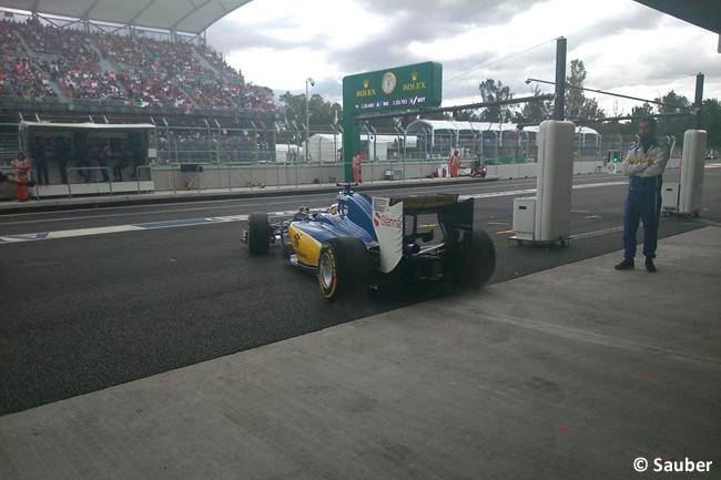 Marcus Ericsson - Sauber - Gran Premio de México 2015