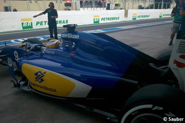 Marcus Ericsson - Sauber - Gran Premio de Brasil 2015