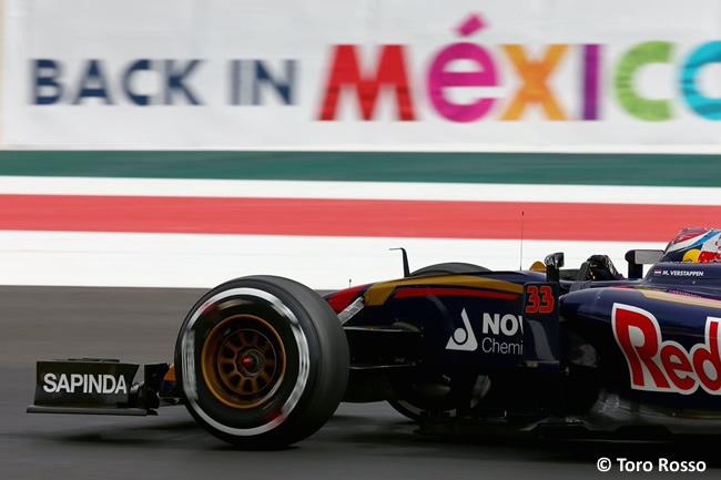 Max Verstappen - Toro Rosso - Gran Premio México 2015