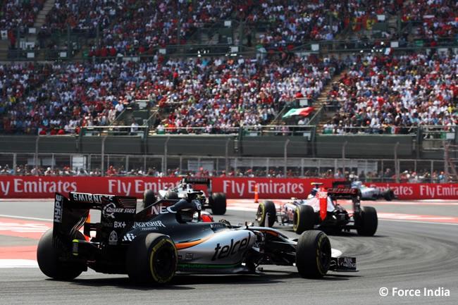 Nico Hulkenberg - Force India - Gran Premio de México 2015