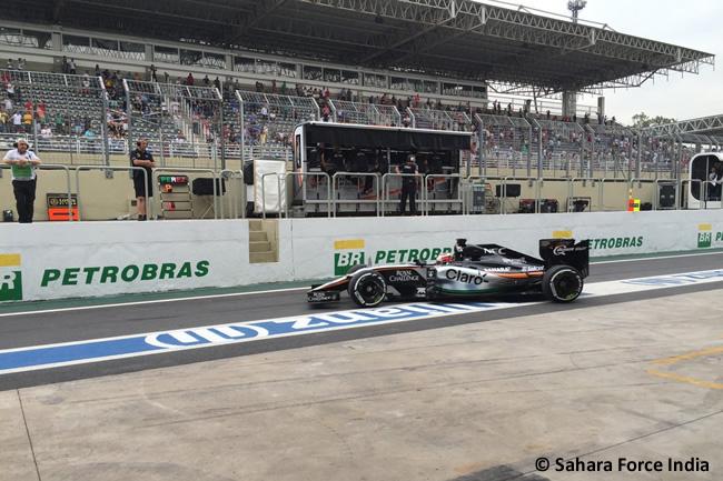 Nico Hulkenberg - Sahara Force India - Gran Premio de Brasil 2015