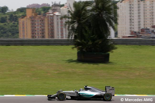 Nico Rosberg - Mercedes AMG - Gran Premio de Brasil 2015