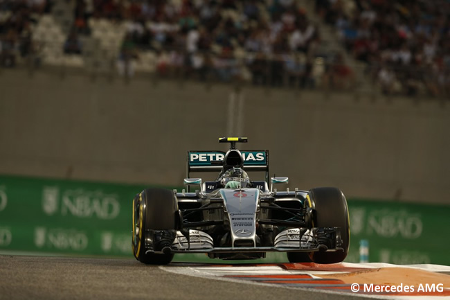 Nico Rosberg - Mercedes AMG - GP Abu Dhabi 2015