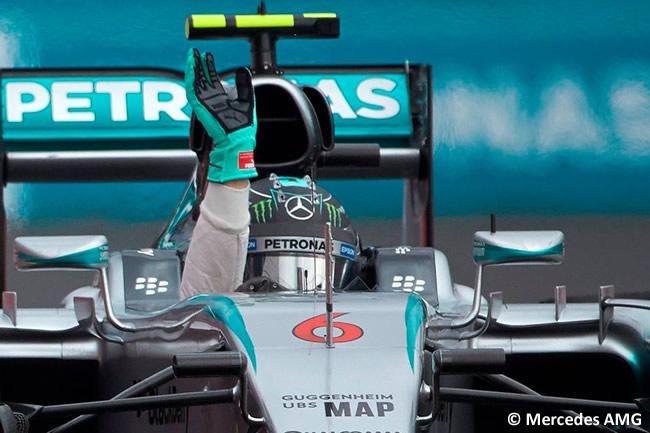 Nico Rosberg - Mercedes AMG - Victoria Gran Premio de México 2015