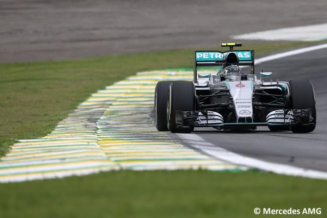 Nico Rosberg - Mercedes - Gran Premio de Brasil 2015