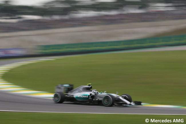 Nico Rosberg - Mercedes AMG - Pole Gran Premio de Brasil 2015