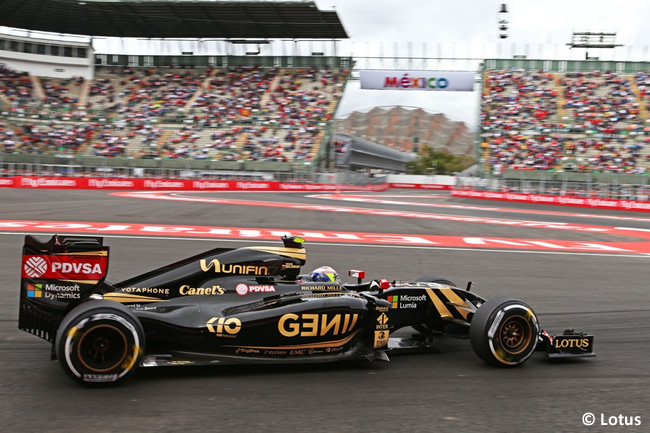Pastor Maldonado - Lotus - Gran Premio de México 2015