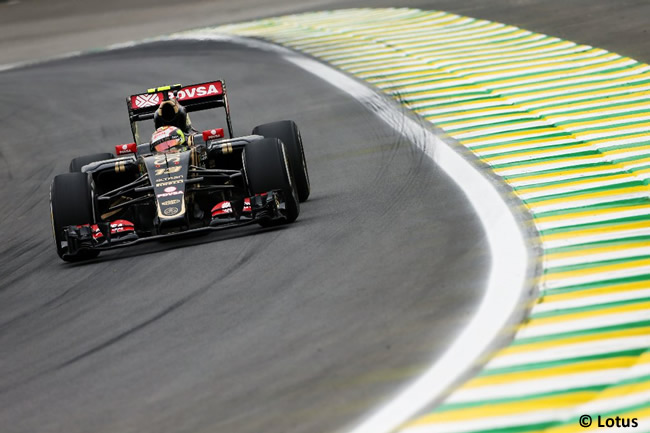 Pastor Maldonado - Lotus - Gran Premio de Brasil 2015
