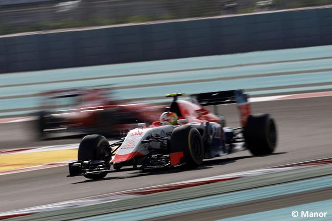 Roberto Merhi - Manor - GP Abu Dhabi 2015