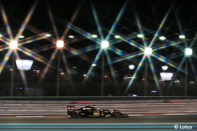 Romain Grosjean - Lotus - GP Abu Dhabi 2015
