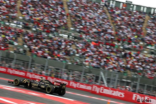 Romain Grosjean - Lotus - Gran Premio de México 2015