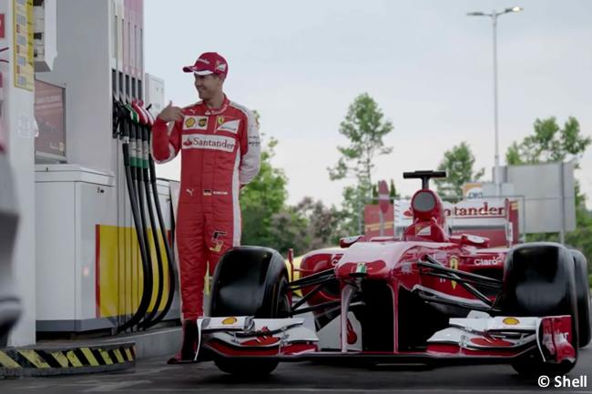 Sebastian Vettel - Ferrari - Shell