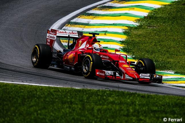 Sebastian Vettel - Scuderia Ferrari - Gran Premio de Brasil 2015