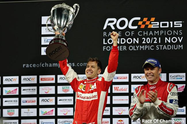 Sebastian Vettel - ROC 2015