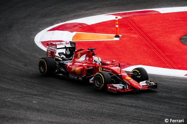 Sebastian Vettel - Scuderia Ferrari - Gran Premio México 2015