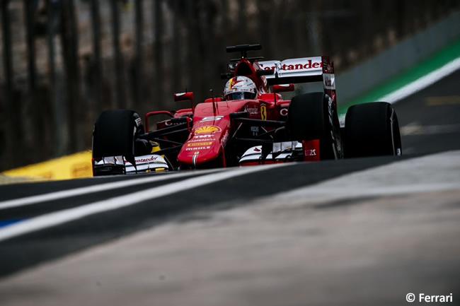 Sebatian Vettel - Scuderia Ferrari - Gran Premio de Brasil 2015