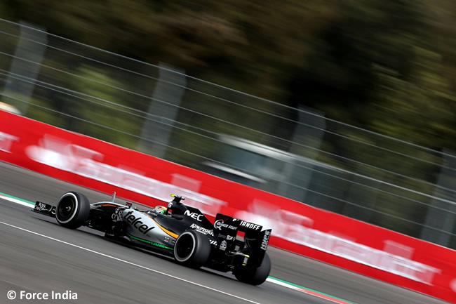 Sergio Pérez - Force India - Gran Premio de México 2015