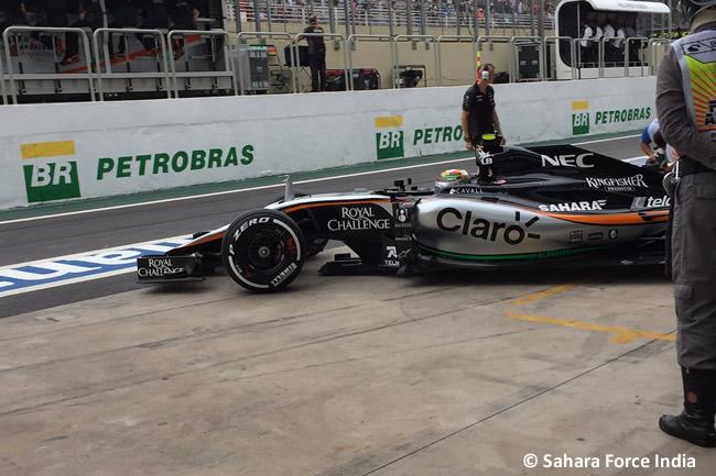Sergio Pérez - Sahara Force India - Gran Premio de Brasil 2015