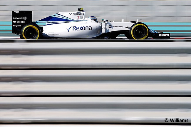 Valtteri Bottas - Williams - GP Abu Dhabi 2015