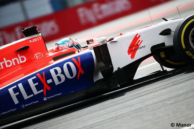 Will Stevens - Manor - Gran Premio México 2015
