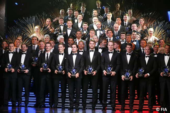 2015 FIA Prize Giving Ceremony