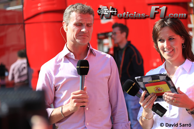 BBC David Coulthard - Lee McKenzie - David Sarró - www.noticias-f1.com