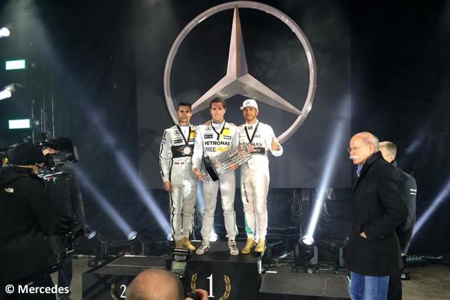 Daniel Juncadella - Pascal Wehrlein - Lewis Hamilton - Stars Cars 2015
