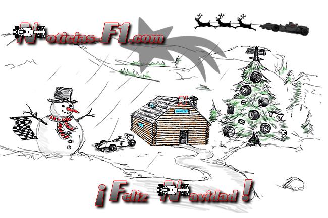 Felicitación Navidad 2015 - www.noticias-f1.com