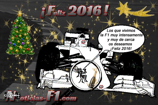 Felicitación Año nuevo 2016 - www.noticias-f1.com