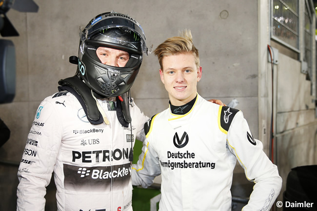Nico Rosberg - Mick Schumacher - Stars and Cars
