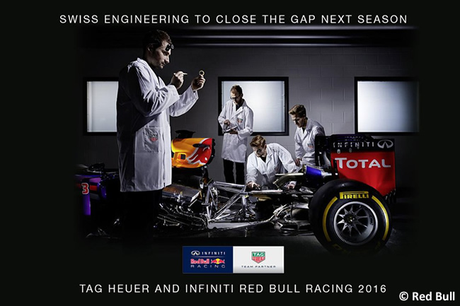 Red Bull Racing - Tag Heuer