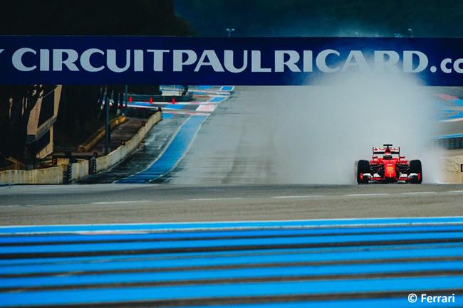 Kimi Raikkonen - Scuderia Ferrari - Test Pirelli 2016 - Paul Ricard
