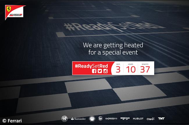 #ReadySetRed - Scuderia Ferrari 2016