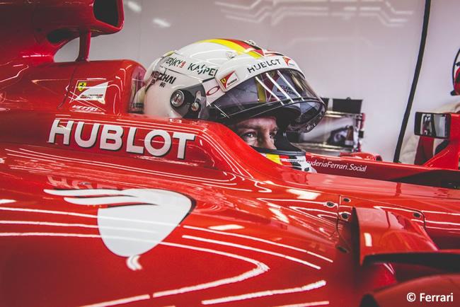 Sebastian Vettel - Scuderia Ferrari - Test Pirelli - Paul Ricard 2016