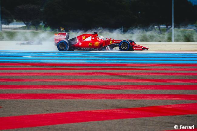Sebastian Vettel - Scuderia Ferrari - Test Pirelli - Paul Ricard