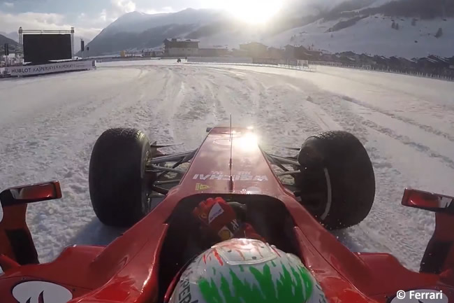 Fisichella Snow Run 2016