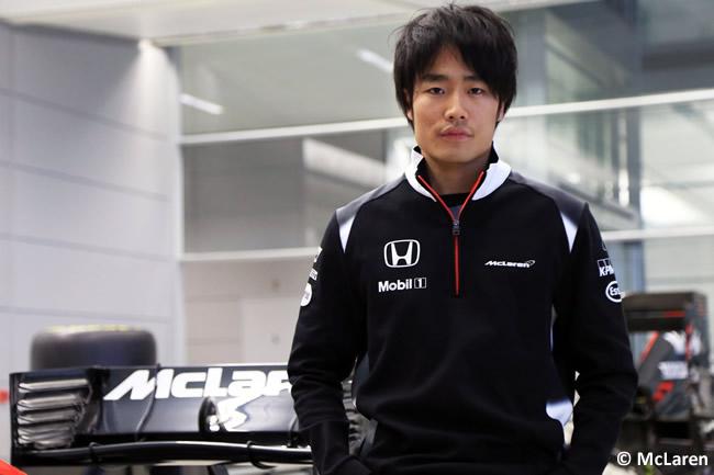 Nobuharu Matsushita - McLaren