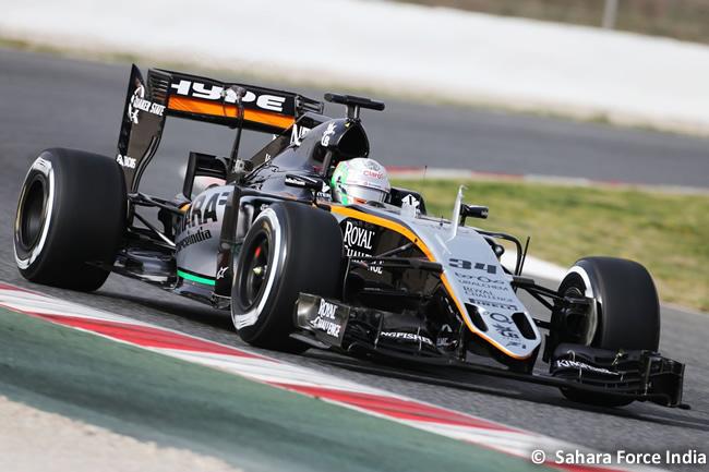 Alfonso Celis Force India - VJM09