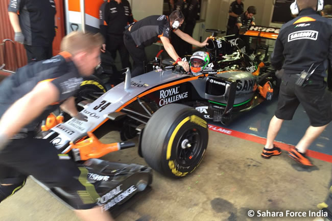 Alfonso Celis - Force India - VJM09