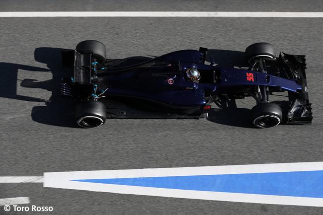 Carlos Sainz - Toro Rosso - STR11