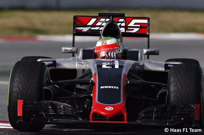 Esteban Gutiérrez - Haas F1 Team - VF16