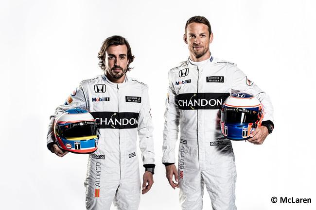 Fernando Alonso - Jenson Button - McLaren-Honda