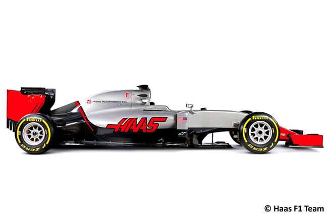 Haas F1 - VF16