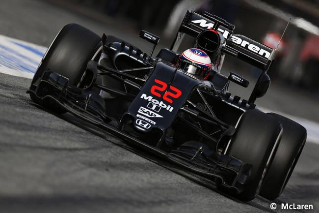 Jenson Button - McLaren - Honda - MP431