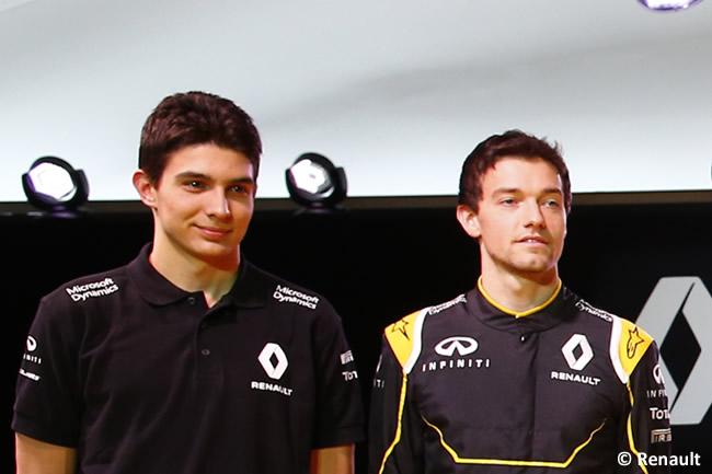 Jolyon Palmer - Esteban Ocon - Renault 2016