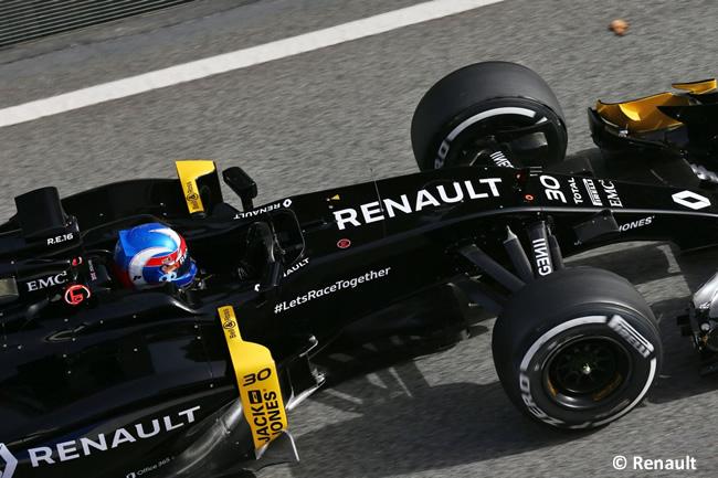 Jolyon Palmer Renault RS16