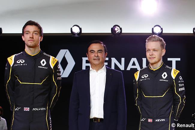 Kevin Magnussen - Jolyon Palmer - Renault