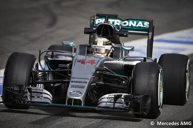 Lewis Hamilton - Mercedes AMG - F1 W07