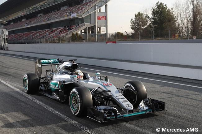 Lewis Hamilton - Mercedes AMG F1 - W07