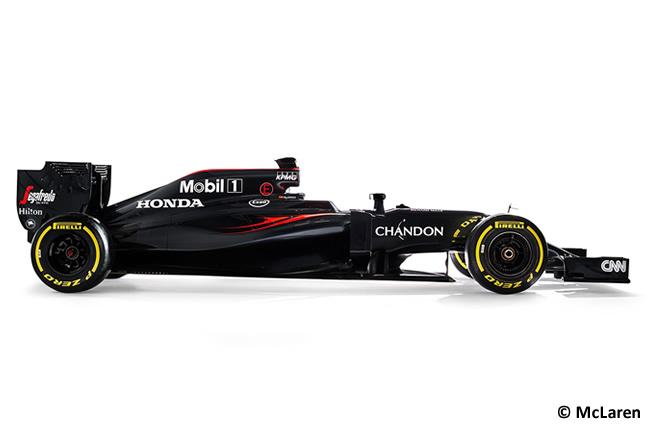 McLaren - MP4-31 - 2016